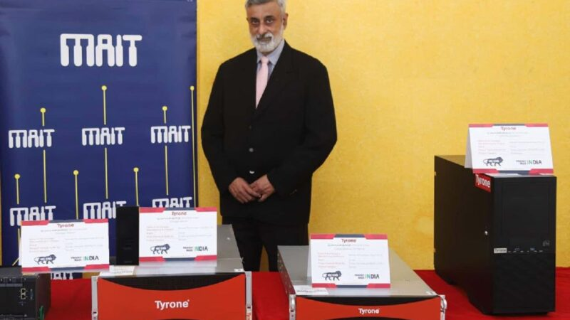 Netweb's 'Make in India' compliant Tyrone servers, launched at MAIT-ETMS 2021