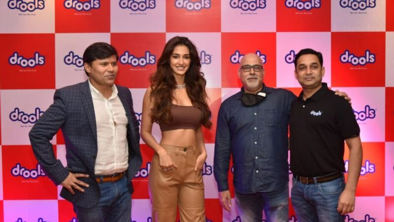 Disha Patani Joins Meet And Greet Session Organised By Drools In Mumbai