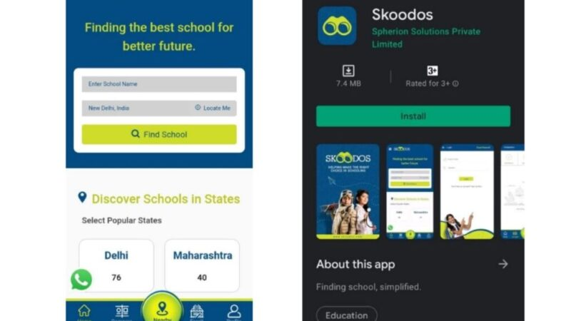 Skoodos Launches Android and iOS App for a Hassle-Free School Selection Process